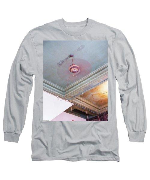 Long Sleeve T-Shirt featuring the photograph Architecture At The Brass Door Memphis by Lizi Beard-Ward