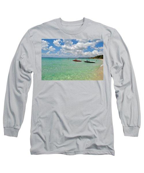 Argostoli Greece Beach Long Sleeve T-Shirt