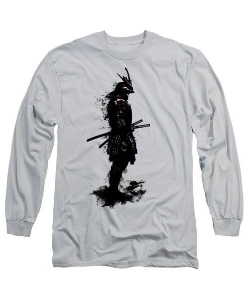 Armored Samurai Long Sleeve T-Shirt by Nicklas Gustafsson