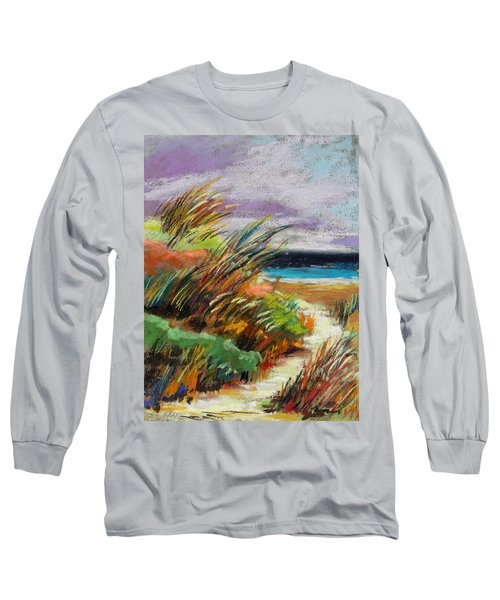 Around The Dune Long Sleeve T-Shirt by John Williams