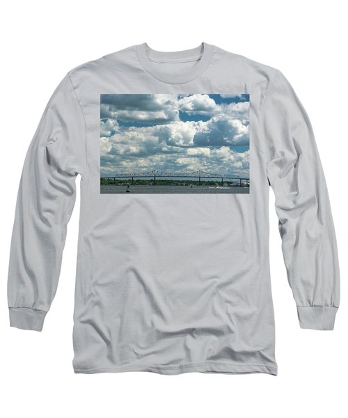 Arthur Kill And Outerbridge Crossing Long Sleeve T-Shirt