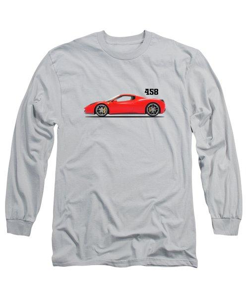 Ferrari 458 Italia Long Sleeve T-Shirt
