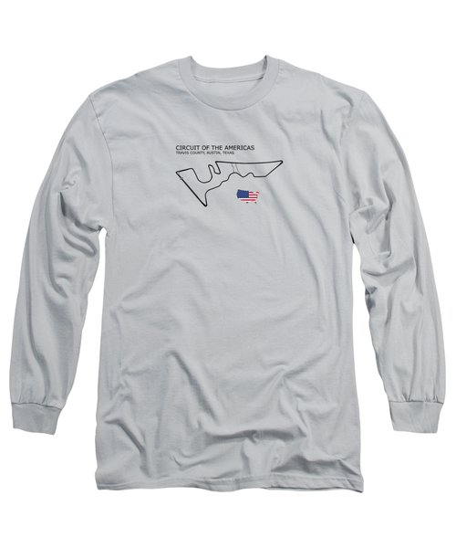 Circuit Of The Americas Long Sleeve T-Shirt