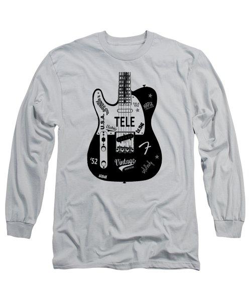 Fender Telecaster 52 Long Sleeve T-Shirt by Mark Rogan