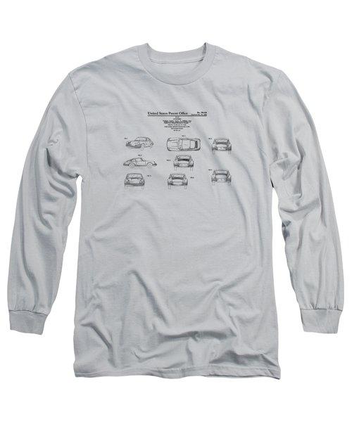 Porsche 911 Patent Long Sleeve T-Shirt