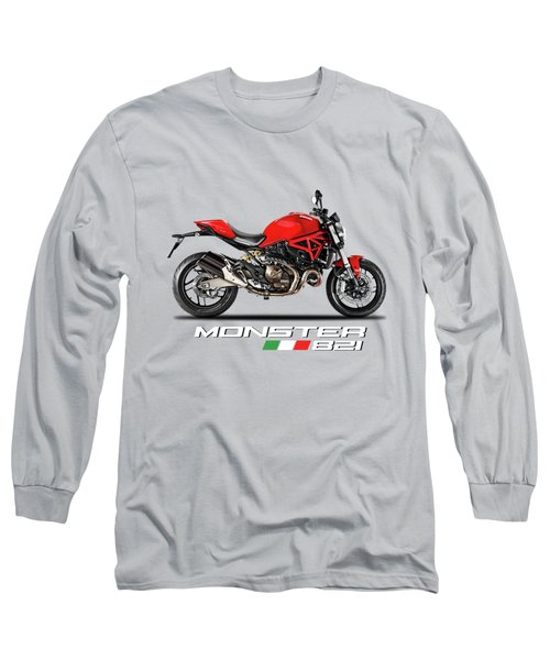 Ducati Monster 821 Long Sleeve T-Shirt