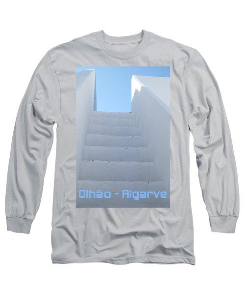 Mediterranean Staircase Long Sleeve T-Shirt