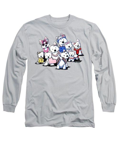 International Westie Women Long Sleeve T-Shirt