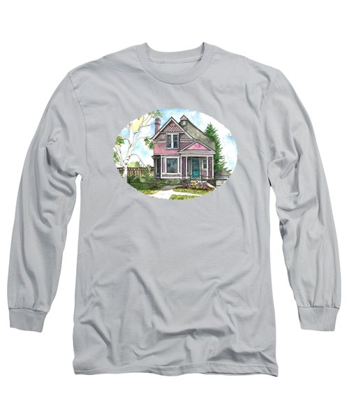 The Violet Lady In Spring Long Sleeve T-Shirt