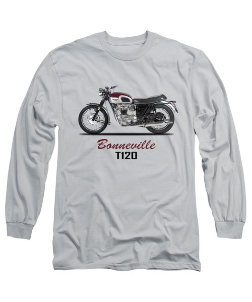 Triumph Bonneville T120 1968 Long Sleeve T-Shirt