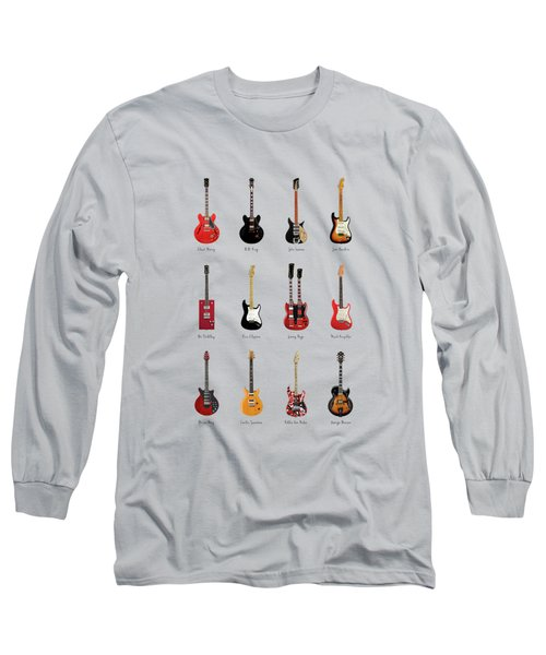 Guitar Icons No1 Long Sleeve T-Shirt
