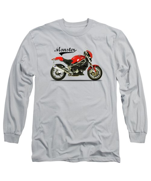 Ducati Monster S4 Sps Long Sleeve T-Shirt by Mark Rogan