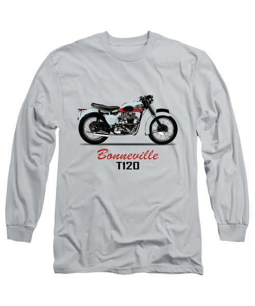 1959 T120 Bonneville Long Sleeve T-Shirt