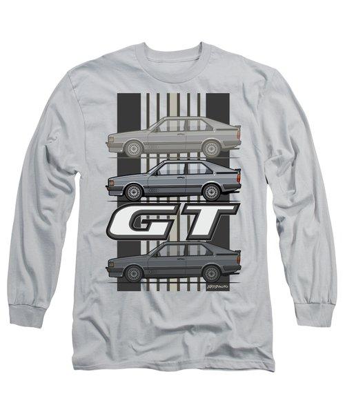 Four Rings Coupe Gt B2 Stone Grey Metallic Long Sleeve T-Shirt
