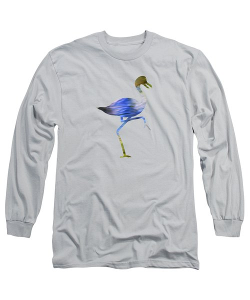 Long Sleeve T-Shirt featuring the photograph Tropical Mosaic Abstract Art by Christina Rollo