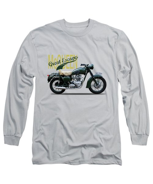 The Great Escape Motorcycle Long Sleeve T-Shirt