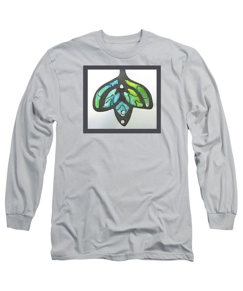 1188 A La Tiffany Long Sleeve T-Shirt by Dianne Brooks