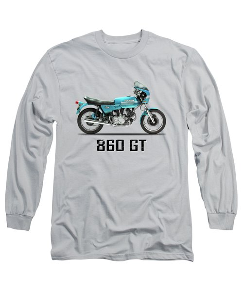 Ducati 860 Gt 1975 Long Sleeve T-Shirt