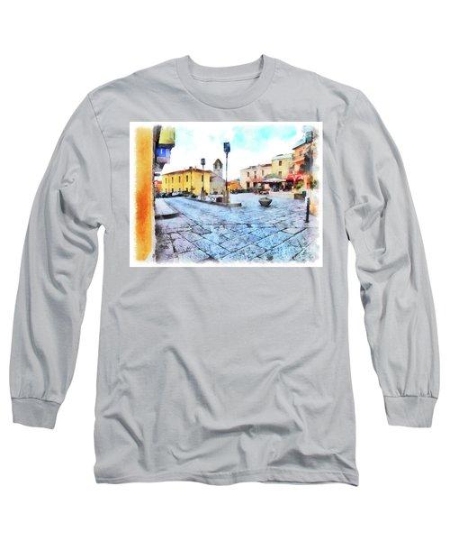 Arzachena Risorgimento Square Long Sleeve T-Shirt