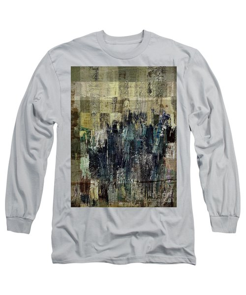 Long Sleeve T-Shirt featuring the painting Ascension - C03xt-159at2c by Variance Collections