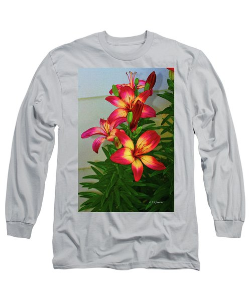 Asian Lilly Spring Time Long Sleeve T-Shirt