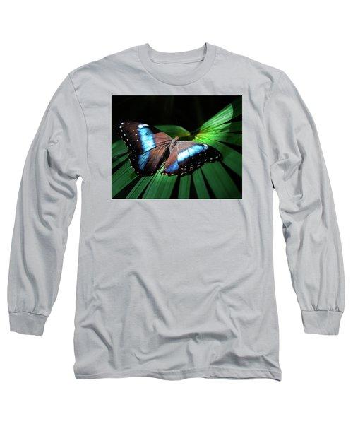 Long Sleeve T-Shirt featuring the photograph Asleep Beneath The Moon by Karen Wiles