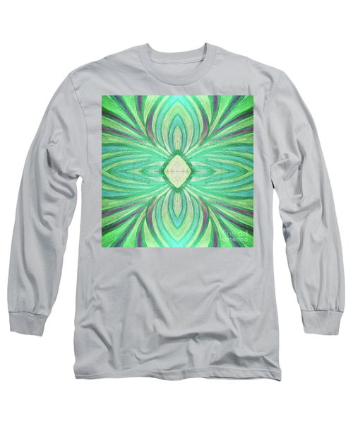 Aspirations Of Harmony Long Sleeve T-Shirt by Rachel Hannah