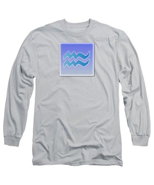 Aquarius January 19 - February 18 Sun Sign Astrology  Long Sleeve T-Shirt