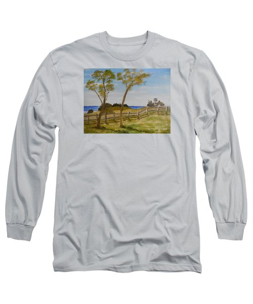 At Ruby's Bulli Long Sleeve T-Shirt by Pamela  Meredith