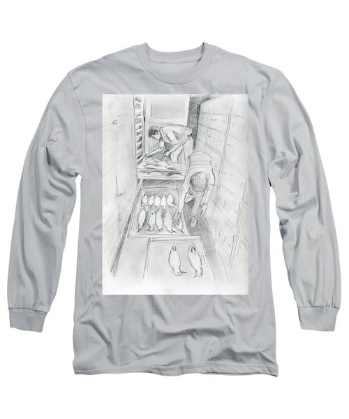 At The Museum I Long Sleeve T-Shirt