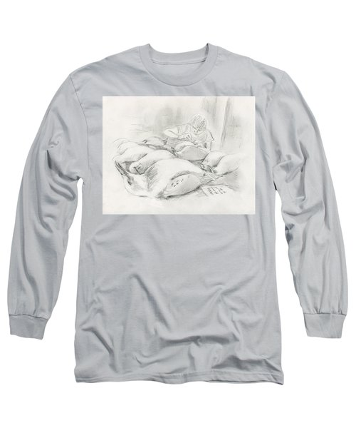 At The Museum II Long Sleeve T-Shirt