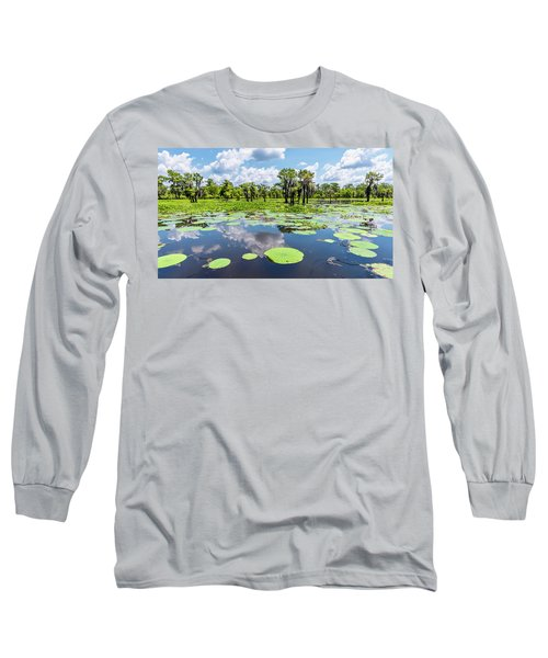 Atchaflaya Basin Reflection Pool Long Sleeve T-Shirt
