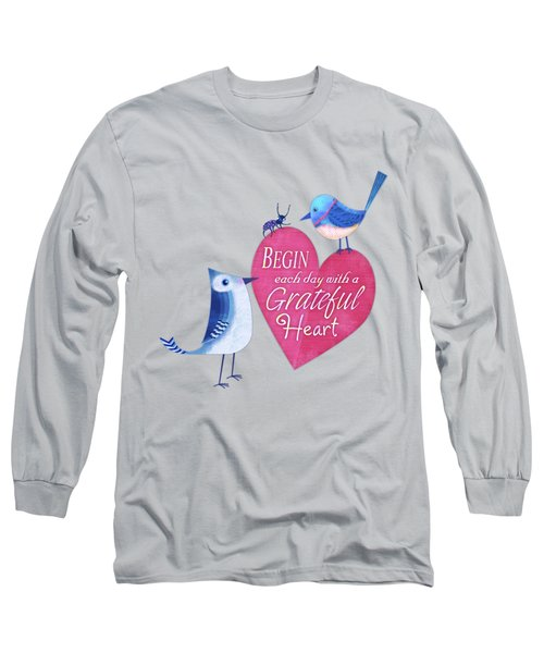 Attitude Of Gratitude Long Sleeve T-Shirt