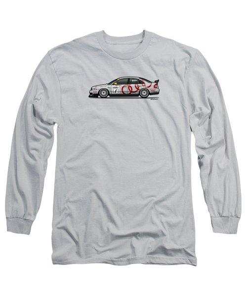 Audi A4 Quattro B5 Btcc Super Touring Long Sleeve T-Shirt
