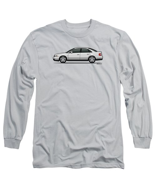 Audi A4 Quattro B5 Type 8d Sedan White Long Sleeve T-Shirt