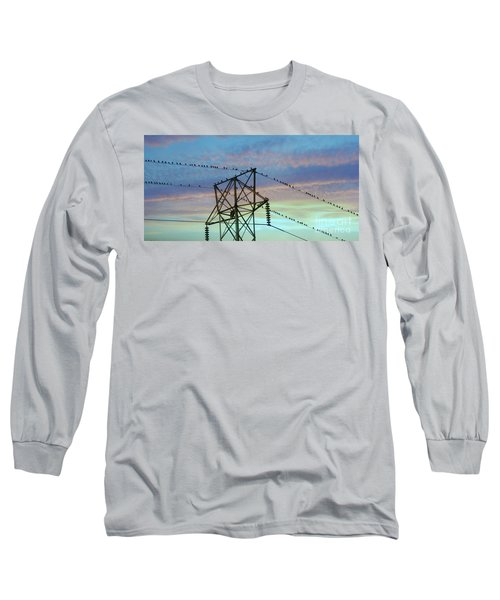 Auditioning For A Hitchcock Movie Long Sleeve T-Shirt by Benanne Stiens