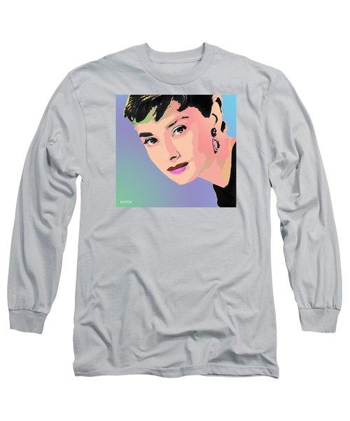 Audrey Long Sleeve T-Shirt by John Keaton