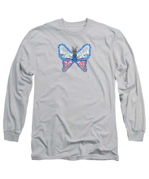 August Butterfly Long Sleeve T-Shirt