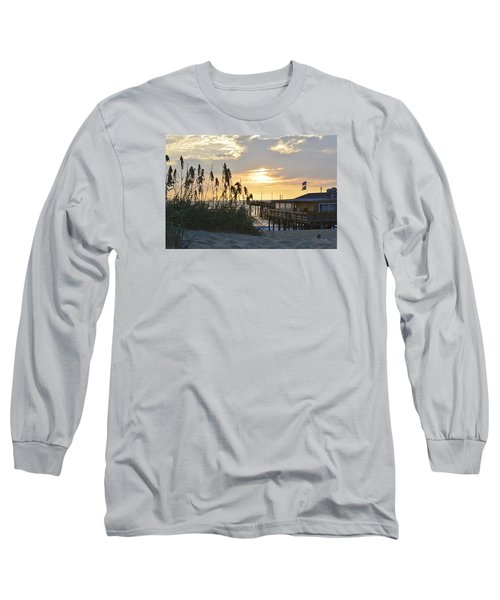 August Sunrise On The Obx  Long Sleeve T-Shirt