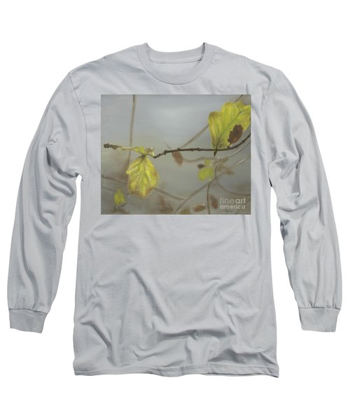 Long Sleeve T-Shirt featuring the painting Autumn by Annemeet Hasidi- van der Leij