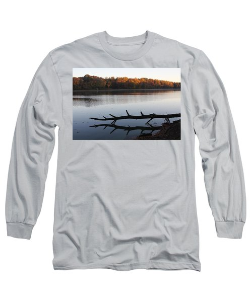 Autumn At The Lake Long Sleeve T-Shirt