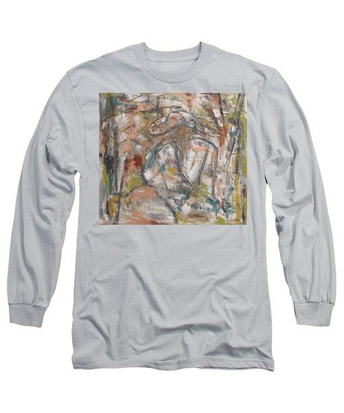 Autumn Breeze Long Sleeve T-Shirt by Trish Toro