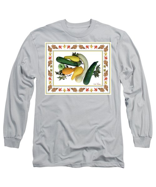 Long Sleeve T-Shirt featuring the digital art Autumn Harvest by Lise Winne
