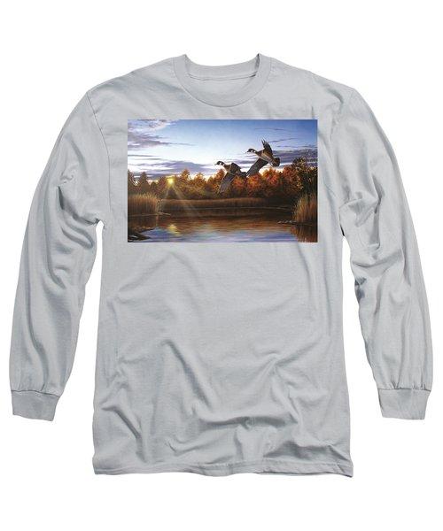 Autumn Home - Wood Ducks Long Sleeve T-Shirt