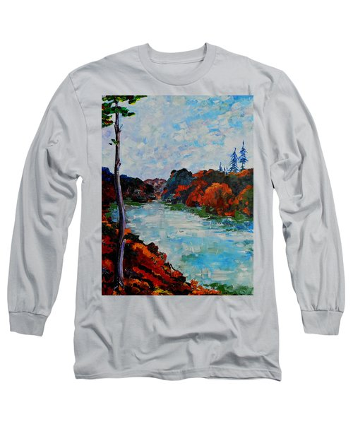 Autumn Landscape Long Sleeve T-Shirt
