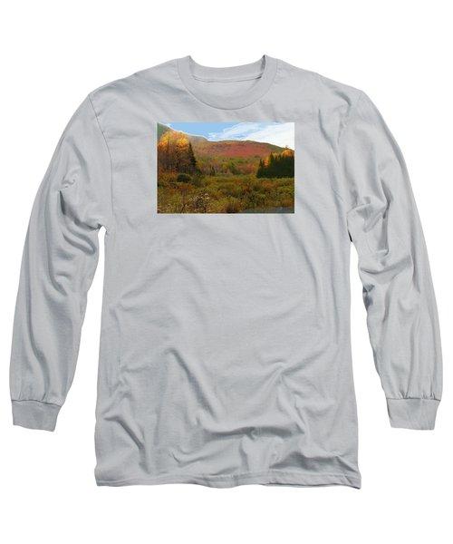 Autumn  Moose Bog Long Sleeve T-Shirt