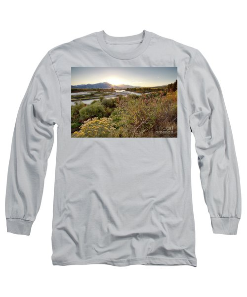 Autumn On The South Fork Long Sleeve T-Shirt
