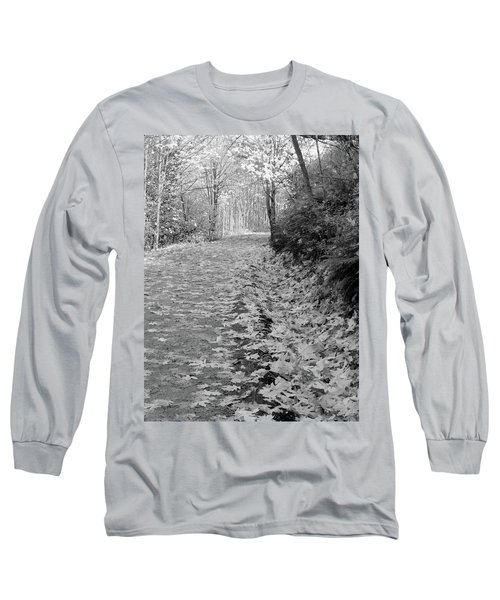 Autumn Path Long Sleeve T-Shirt