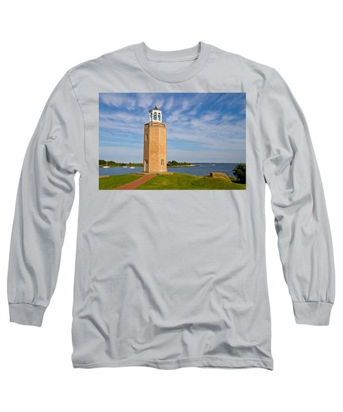 Avery Point Lighthouse Long Sleeve T-Shirt