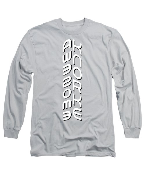 Awesome Knorke Cornered Long Sleeve T-Shirt by Stan  Magnan